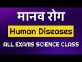 मानव रोग (Human Diseases) | Science Class | Biology Class For All Entran...