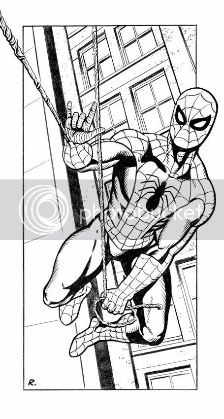 Spider-man,illustration,Graeme Neil Reid,Comic
