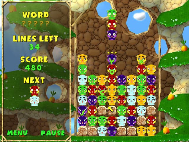 Hamster Blocks Free PC Game Screenshot