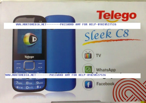 Telego C8 spd 6531 Flash File 100% Tested  without password