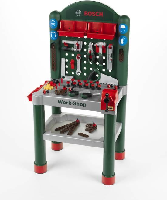 bol.com | Bosch Speelgoed Professional Line Werkbank,Theo ...