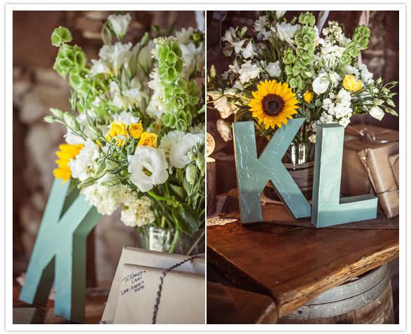 wooden letter accessories