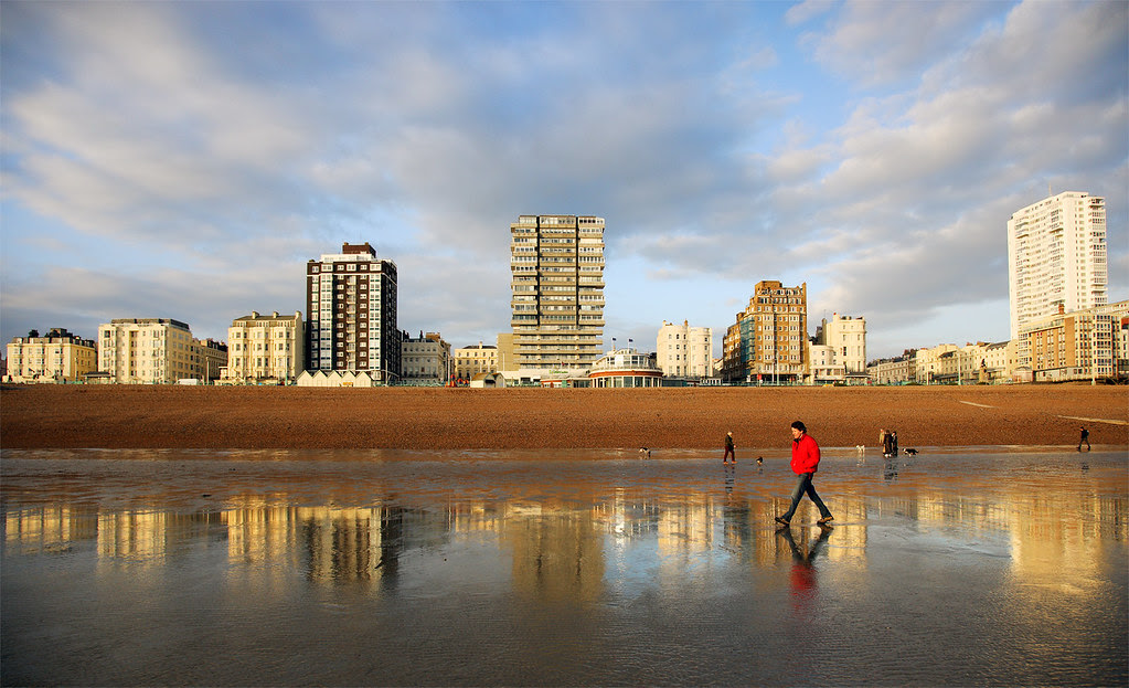 Spring Tide, Brighton Seafront