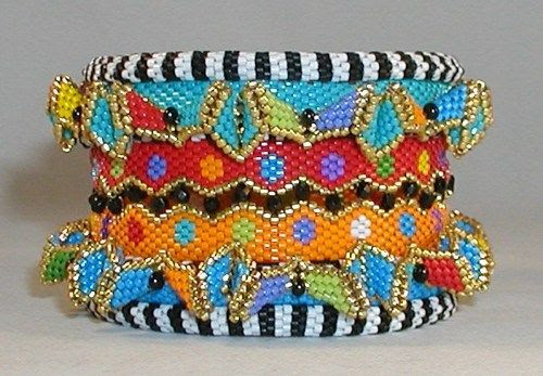 TUTORIAL  Carousel Zig Zag and Skinny Bangles