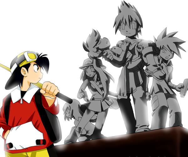 Pokemon Adventures Snip  Pok\u00e9mon Adventures Image