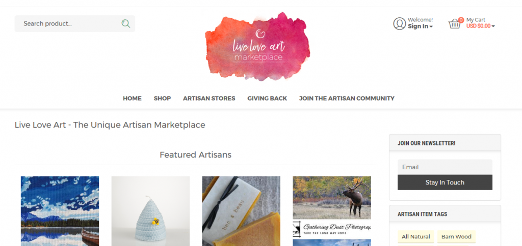 Where to Sell Art Online - Live Love Art