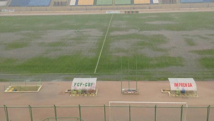 estádio domingão, ceará, campeonato cearense (Foto: Reprodução/Twitter Maranguape)