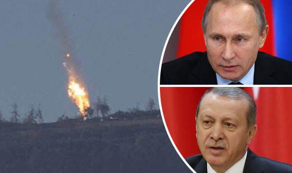 turkish president Recep Tayyip Erdogan and vladimir putin