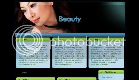 Beauty Sexy Fashion Joomla Theme Template