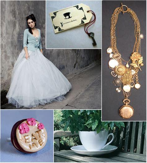 Alice in Wonderland inspiration   Wedding Notebook