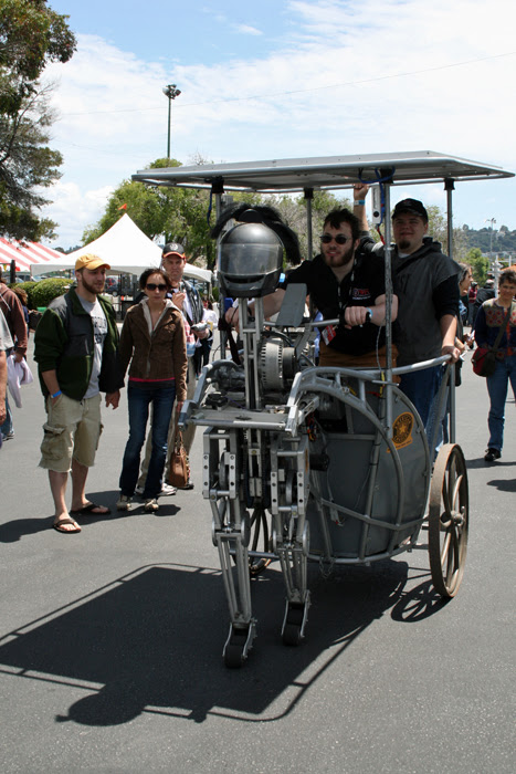 Maker Faire chariot