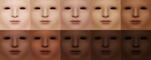 tonos de piel