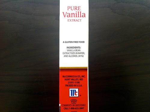 Vanilla Extract Box