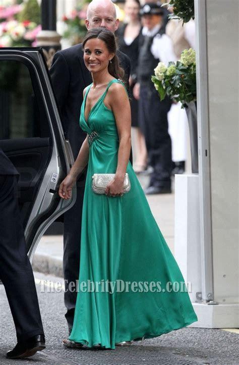 Pippa Middleton's Emerald Green Bridesmaid Dress at the