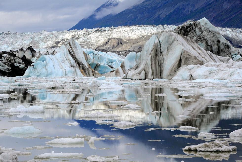 El gran glaciar Lowell