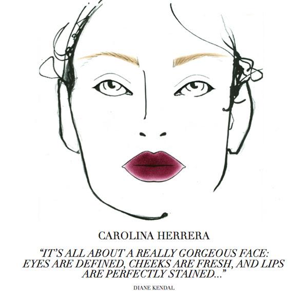 carolinaherrera cosmetics in Europe
