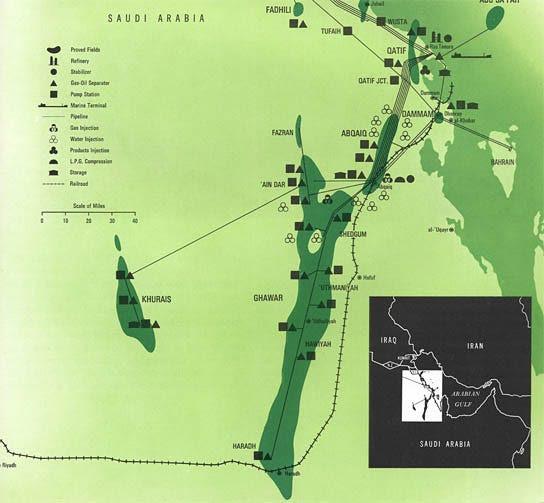 saudi arabia oil fields