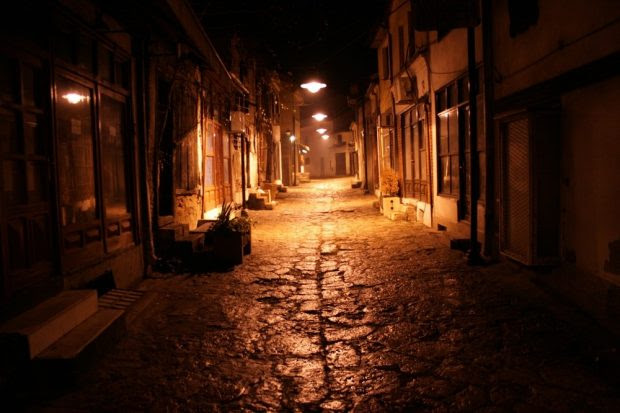 A London Street at Night