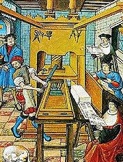 Imprimerie 15e siècle