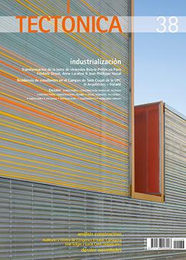 Portada de TECTÓNICA 38 industrialización