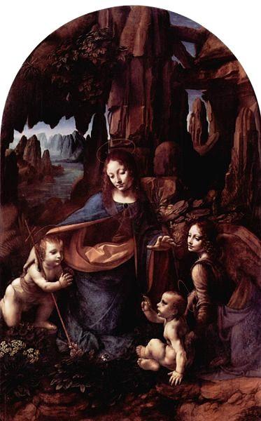 Leonardo - A Virgem das Rochas