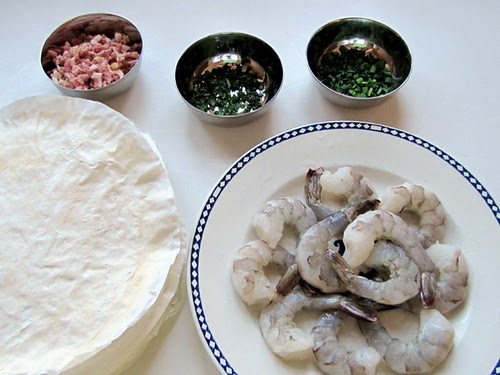 Stuffed Prawns Ingredients