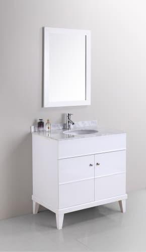 34 Inch Bathroom Vanity: Bathroom Sink Storage