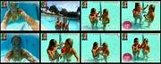 Melhor na Tv 2015/799 - Carolina Patrocinio e Pimpinha Jardim sensuais na piscina