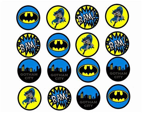 Batman: Free Printable Mini Kit.   Oh My Fiesta! in english