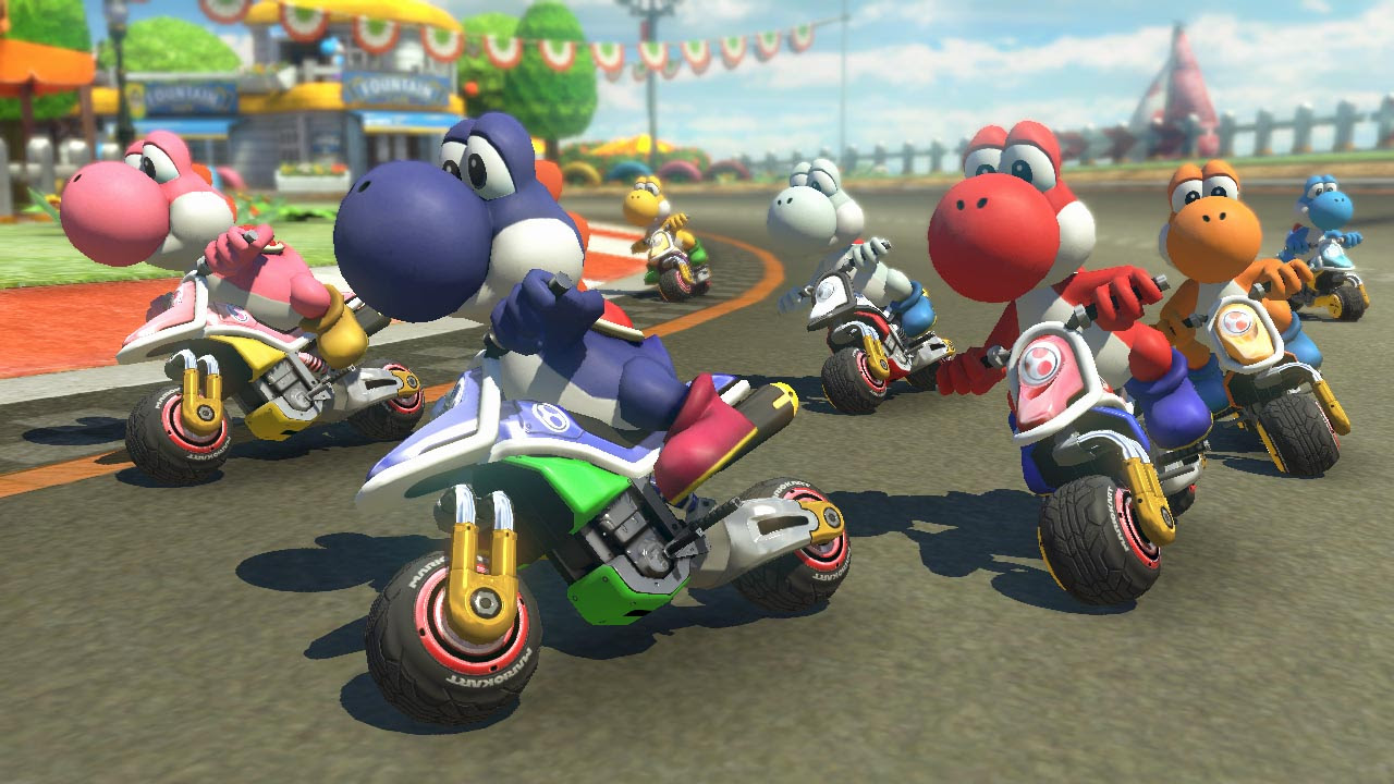 Mario Kart 8 Deluxe gets a semi-substantial patch screenshot