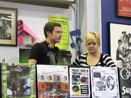 Elijah Wood DJs @ Amoeba Records Sunday, Aug 8th