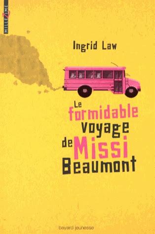Couverture Le formidable voyage de Missi Beaumont