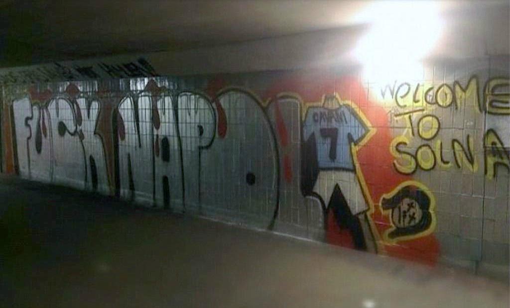 Cavani Decapitato Il Terribile Murales Degli Svedesi Dell Aik Solna