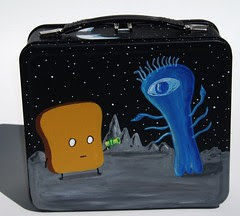 Mr Toast in Space lunchbox