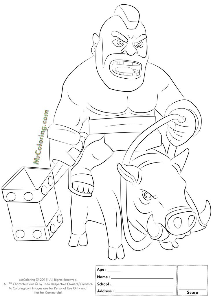 Clash Royale Drawing At Getdrawingscom Free For Personal Use