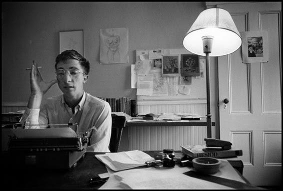 John Updike, Massachusetts, 1962 © Dennis Stock / Magnum