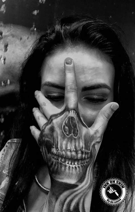 bold skull tattoos celebrate mortality skull