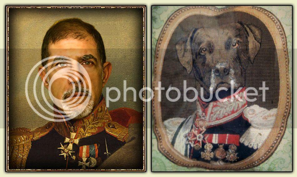 General Elisson and Commandant Woofer