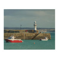 St Ives Cornwall England Photo Wood Prints