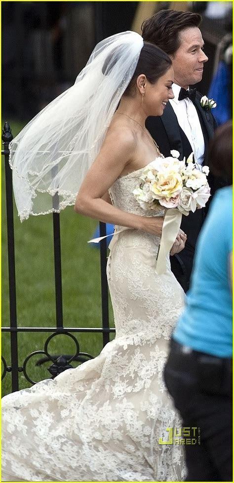 Full Sized Photo of mila kunis mark wahlberg wedding ted