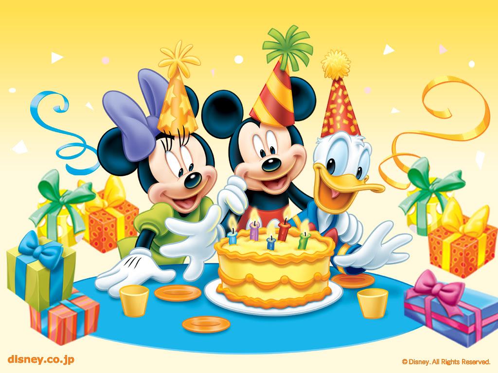 ディズニー Birthday 壁紙 ディズニー 壁紙 6229350 ファンポップ