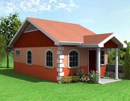 Desain Rumah Modern Minimalis 1 Lantai Type 36 (Jahnbar)