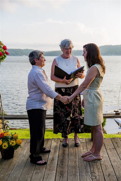 Kate & Annette's Spofford Lake Wedding