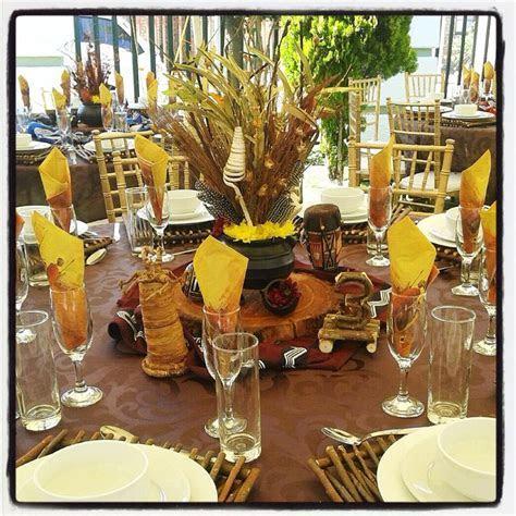 Cheap garden supplies: Xhosa wedding decor
