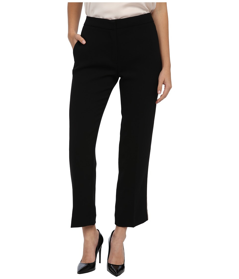 See by Chloe - Low Waist Slim Fit Pants (Black) Women's Casual Pants
