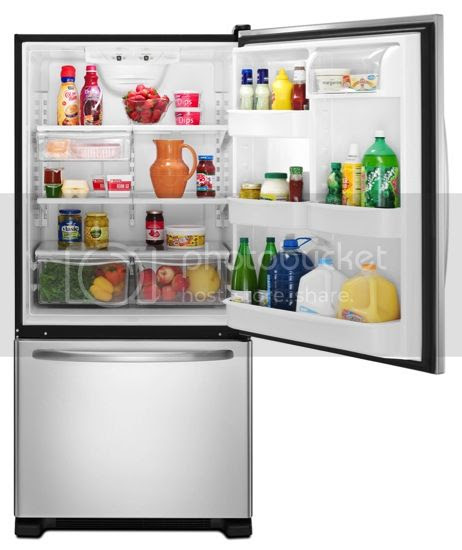 Amana Bottom-Freezer Refrigerator