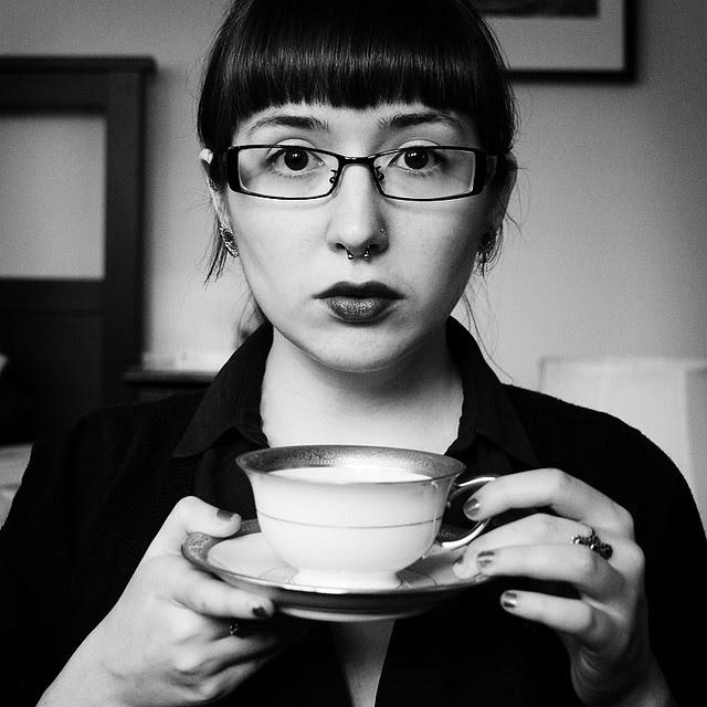 the tea drinker.