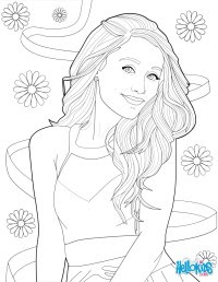Disegni Da Colorare Victorious Ariana Grande Coloring Pages