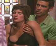 Sandra Barata Belo sensual na novela perfeito Coração