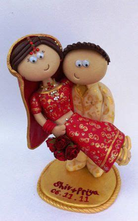 Indian Wedding Toppers, cake toppers #indianwedding #
